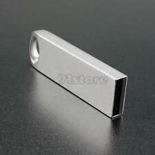 16-64GB Portable Mini Metal Silver USB2.0 Flash Stick Memory Drive Pen Storage