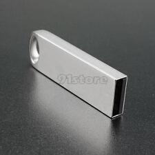 64GB Portable Mini Metal Silver USB2.0 Flash Stick Memory Drive Pen Storage FM