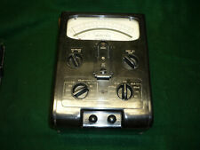 Rare Vintage GEC Selectest Testmeter DIII with original leather case