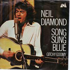 7inch NEIL DIAMOND song sung blue HOLLAND EX (S0983)