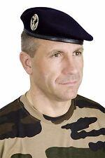 Béret TTA bleu marine réglementaire armée française NEUF en taille 57