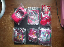LOT OF 6 MCDONALD TOYS , BARBIE / TWINKLE TOES / WINX CLUB