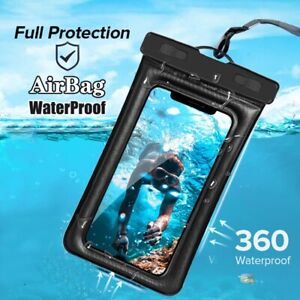 Airbag Waterproof Pouch Phone Case Swim Water Proof Cover For iPhone Samsung