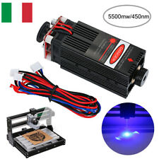 5500mw 405nm Lasers Head Blue Lasers Module for CNC Engraving Lasers Cutter IT
