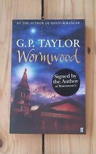 G P Taylor Wormwood 1st ed PB Signed