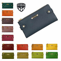 Ladies Real Leather Purse New Wallet Zip Long Women Clutch Card Holder Genuine