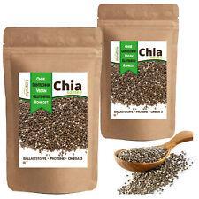 7,45/kg Mynatura Top Chia Samen Salvia hispanica L. (Doppelpack 2x 1000g)