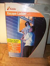 Kidde Emergency 3-Story Escape Ladder, 25' Kl-3S With Tangle-free Design