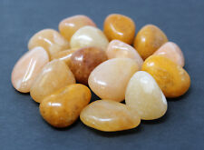 1/2 lb Bulk Lot Golden Quartz Tumbled Stones (Crystal Gemstone Healing Reiki)