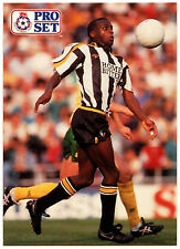 Kevin Bartlett Notts County #311 Pro Set Football 1991-2 Trade Card (C364)