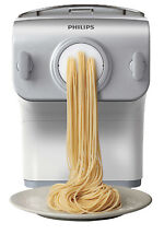 NEW Philips HR2358/06 Pasta & Noodle Maker with Auto Weigh: White/Silver
