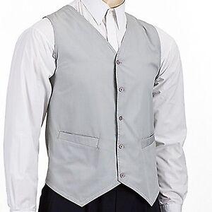 Hospitality Waistcoat Good Quality Perfect  Waiter Waitress Bar Mens Waistcoat