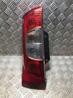 Peugeot Bipper PASSENGER LEFT REAR LIGHT 01353206080E 0 2008 TO 2017 Van