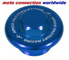Apico Azul Anodizado Aleación del tapón de aceite tapón Suzuki Rm 125/250 92-13 Motocross