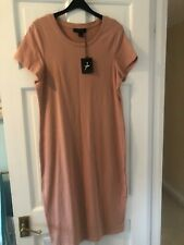 Nude Pink Bodycon Dress Size 18