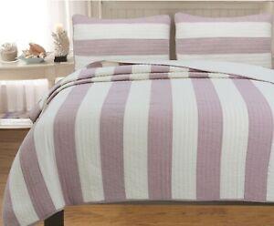 Josie Taro Cotton Reversible Quilt Set, Bedspread, Coverlet
