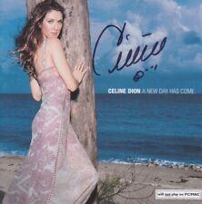 CELINE DION CD Album Booklet ORIGINAL signiert IN PERSON Autogramm signed RAR