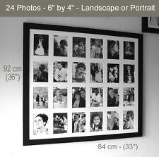 Multi-Aperture Memories Frame – Black or White - Various Sizes – Handmade