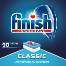 Finish Pastilles Lave Vaisselle Powerball Classic 90Tablettes Detergent Puissant
