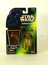 Star Wars Green Card Holo POTF2 Lando Calrissian Skiff Guard MOC