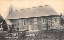 WALES - CRAY Church,  Breconshire, used 1919