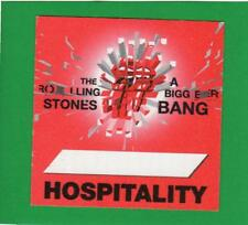 Rolling Stones Tour 2005 A Bigger Bang Backstage Pass - Hospitality Red