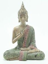 "Feng Shui 8"" Thai Earth Touching Meditating Buddha Figurine Peace Statues"