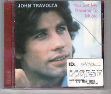 (HG923) John Travolta, You Set My Dreams To Music - 2001 CD
