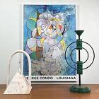 George Condo Louisiana Exhibition Print , Framed