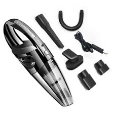 120W Portable Car Vacuum Cleaner USB Rechargeable Handheld Cleaner Wet and Dry