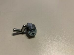 Z-Haken Schraubnippel Z Form für Bowdenzug bis 2,4 mm Zugstärke Rasenmäher