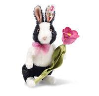 """Steiff PEPPER  SPRINGTIME BUNNY RABBIT 8"""" (20cm) Mohair Easter Rabbit - NEW"""