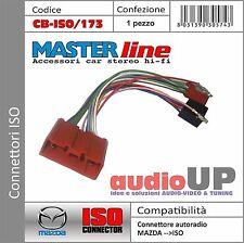 CONNETTORE radio dal ORIGINALE a ISO altoparlanti+alimentazione per MAZDA Miata.