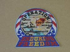 Insigne Tissu Opération AFGHANISTAN Enduring Freedom ( Bateau carte)