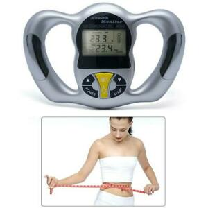 Hot Body Fat Monitor Hand Held Body Mass Index Health Monitor Practical Tool AU