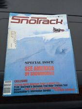 Nov 1978 SNOTrack snowmobile magazine  Yamaha COVER Polaris Ski Doo Arctic Cat