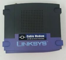 Cisco-Linksys BEFCMU10 Ethernet and USB Cable Modem - Ships Today!