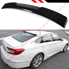 FOR 2018 HONDA ACCORD 10TH GEN SEDAN VIP GLOSSY BLACK REAR WINDOW ROOF SPOILER