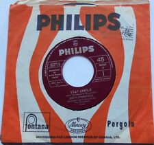 DUSTY SPRINGFIELD Stay awhile /Something special NM- CANADA ORIG '64 PHILIPS 45