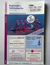 SKN 2013/2014 regional telephone book Wilhelmshaven, Sands, wangerland