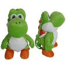 "Super Mario Bros. Yoshi 18"" Plush Backpack - Licensed Product"