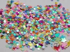 50Gram Mixed Color Flower Sequins Loose Tiny 3mm Nail Art