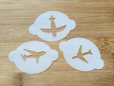 Face / body art / glitter tattoo stencils Aeroplanes reusable 190 Myler