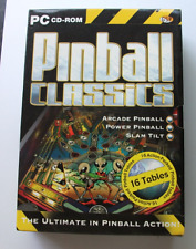 PINBALL CLASSICS - Limited Edition Pc Cd Rom 16 tables! FAST POST