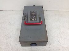 GE General Electric TH3223 100 Amp 240 VAC Fusible Disconnect Switch Mod 2 (TSC)