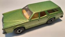 Matchbox Lesney no.74-E Mercury Cougar Villager Stationwag Superfast 1978 Green