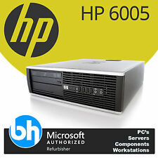 Fast HP Quad Core Desktop PC Computer Windows 7 Pro AMD Phenom II x4 3.0GHz 4GB