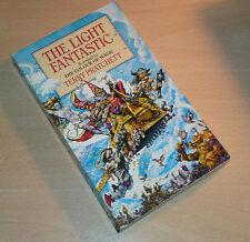 Terry Pratchett Light Fantast paperback SIGNED EARLY SIGNATURE 1988 UK Discworld