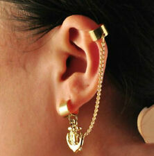 Unbranded Acrylic Cuff Costume Earrings