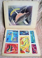 7 Vtg Original Small Paintings & Silk Screen Mid-Century Signed Dunshee -Estate